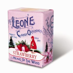 Leone Pastilles Strawberry Flavour Sweets 30g